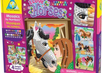sticker mosaics gift for kids