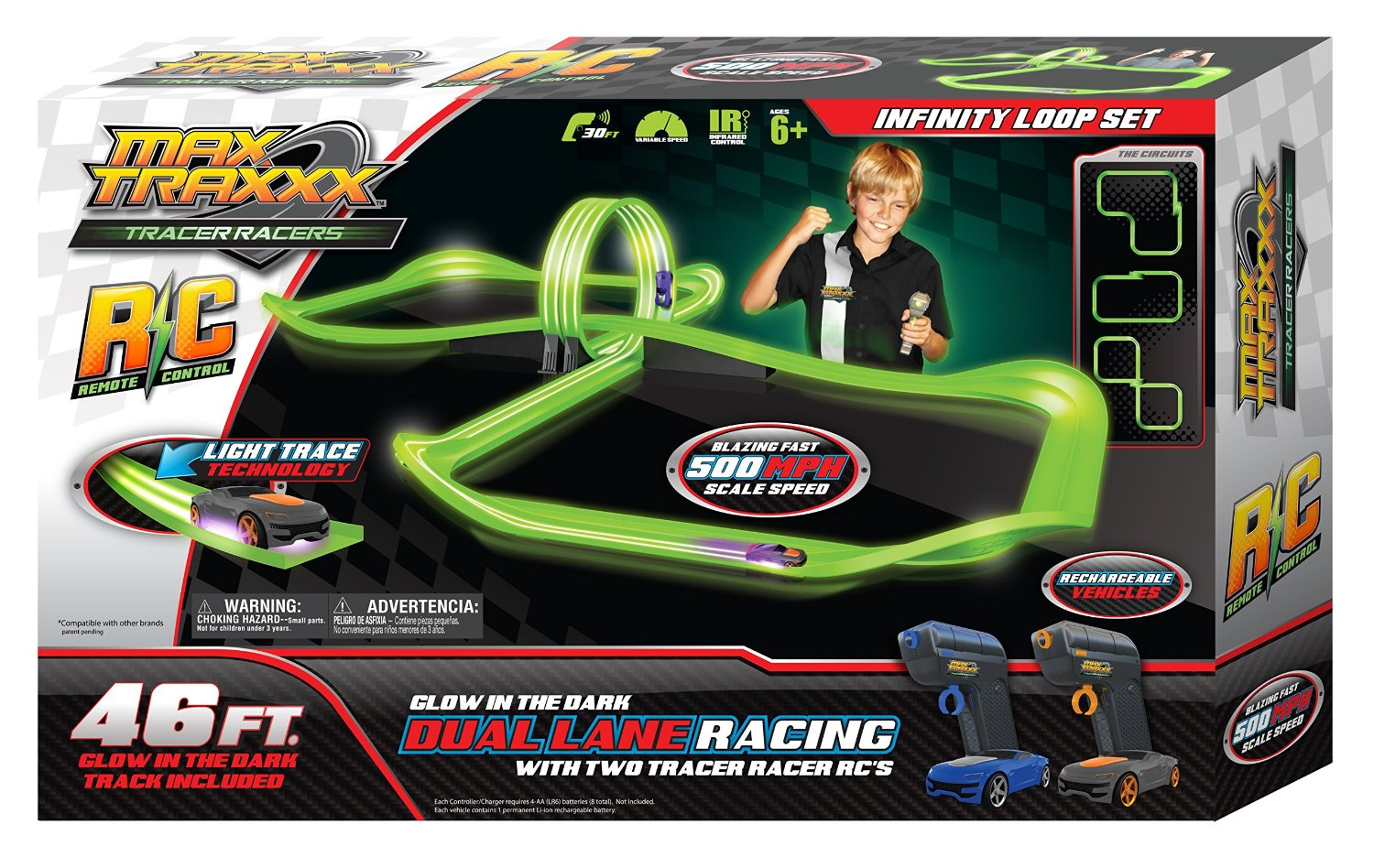 Remote Control Car Race Track Toy