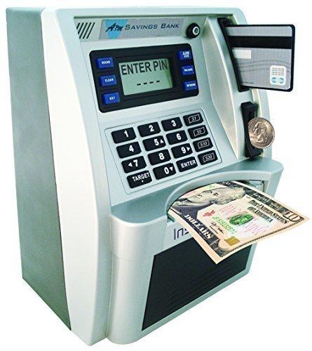 7 Novelty Coin Banks For Kids:  atm for kids