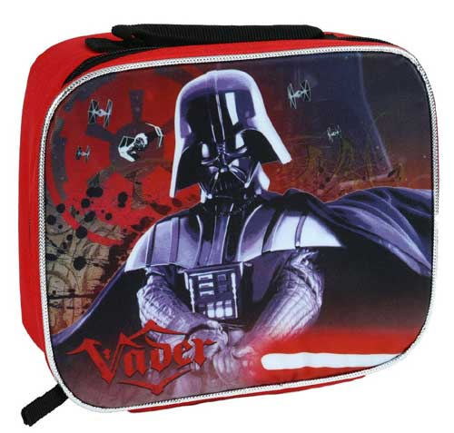 11 stunning Star Wars Lunch Boxes that Kids Will Love: darth vader lunch bag