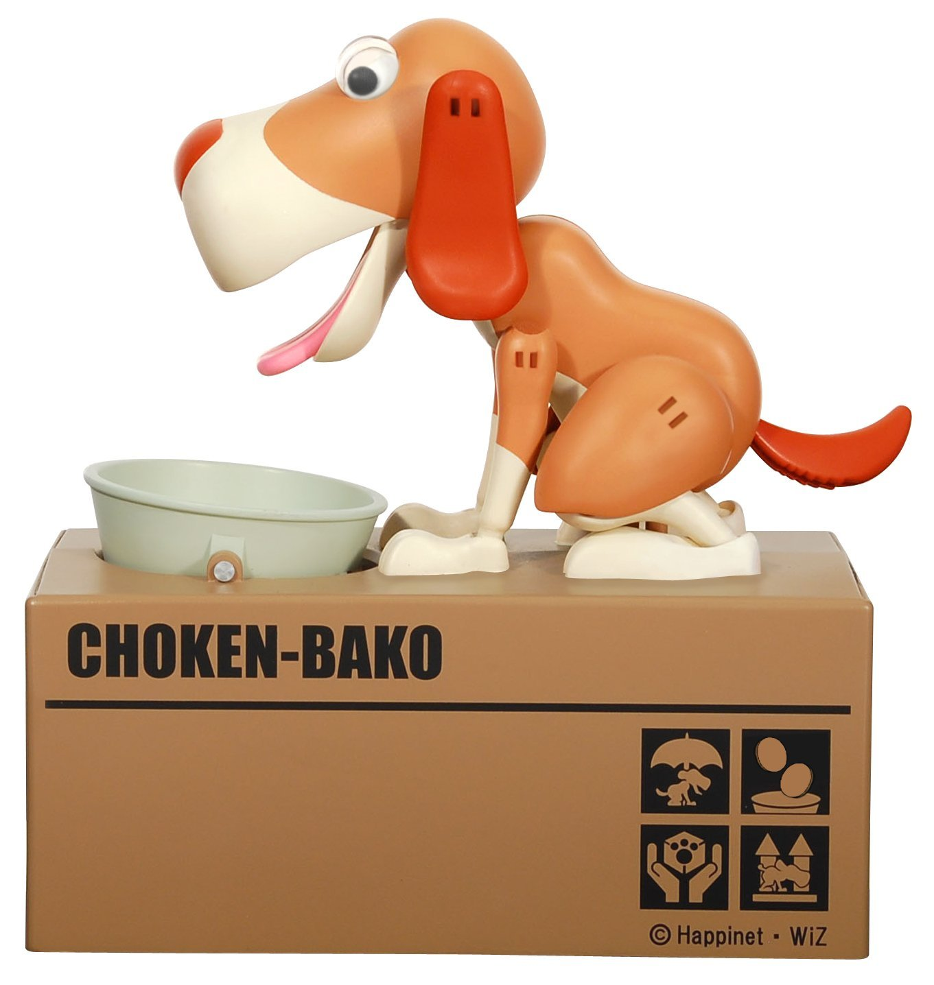 7 Novelty Coin Banks For Kids: Feed the dog
