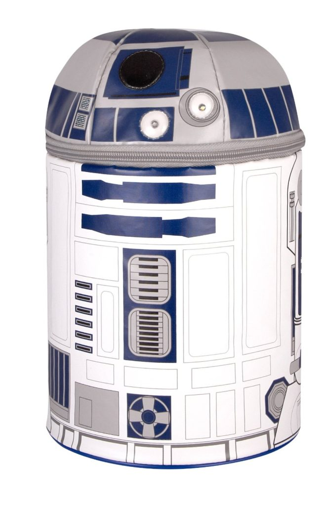 11 stunning Star Wars Lunch Boxes that Kids Will Love: R2D2 interactive thermos bag