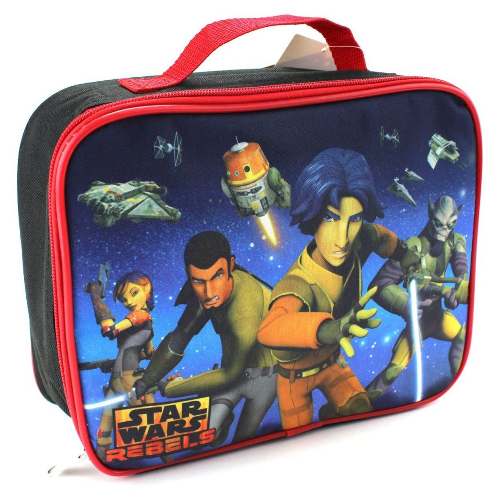 11 stunning Star Wars Lunch Boxes that Kids Will Love: rebels lunch bag