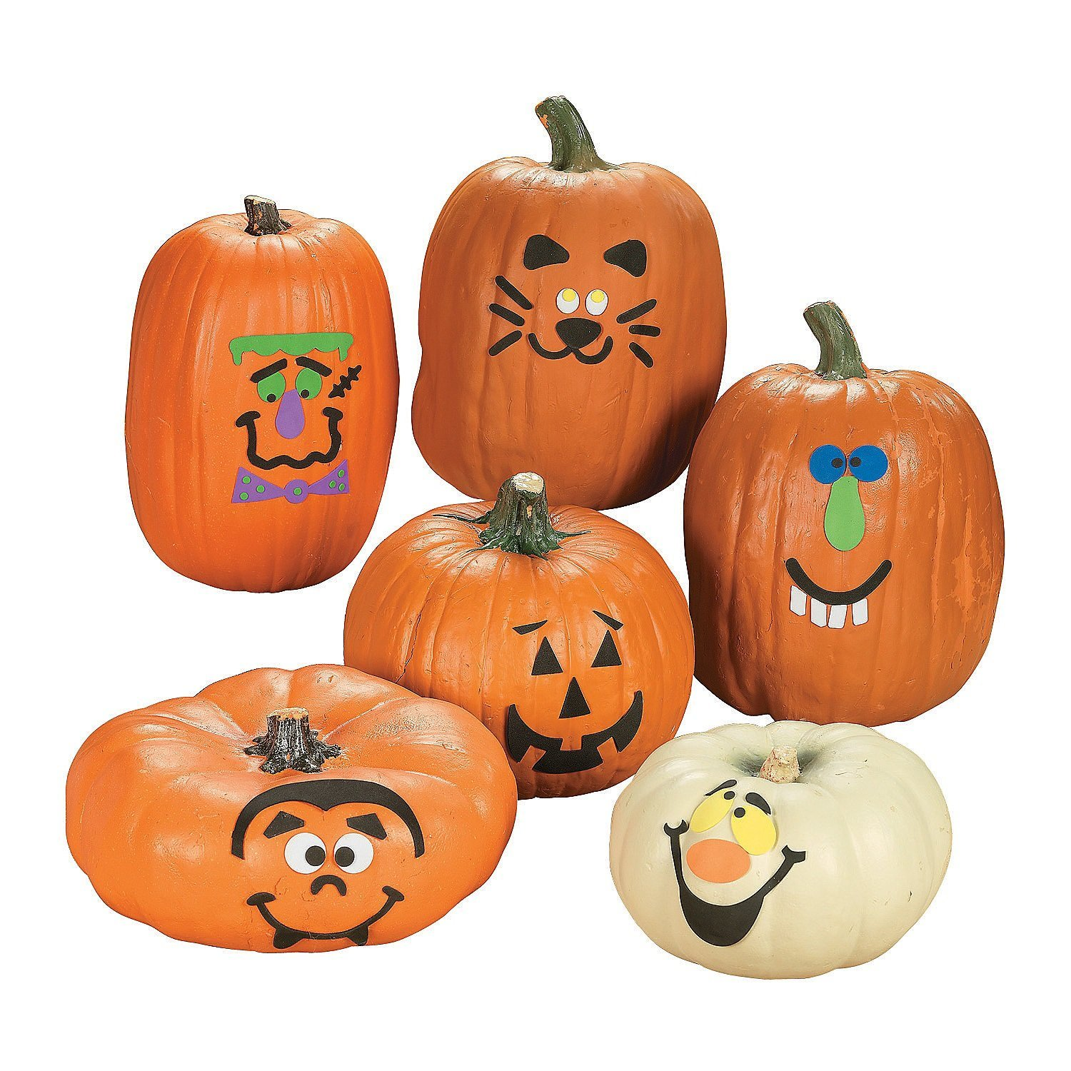 7 Halloween Craft Kits For Kids: Foam Pumpkin Decorations