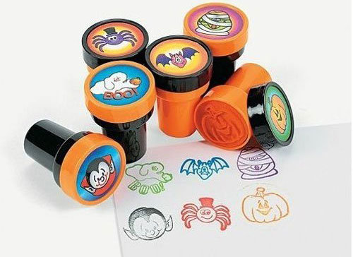 7 Halloween Craft Kits For Kids: Halloween Stamps