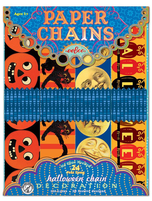 7 Halloween Craft Kits For Kids: halloween paper chains craft kit