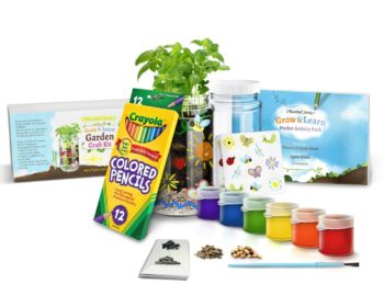 Indoor gardening kit for kids
